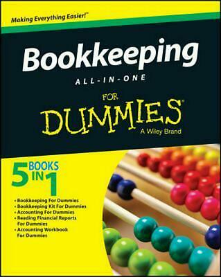 Bookkeeping All-In-One for Dummies by Dummies Consumer (English) Paperback Book