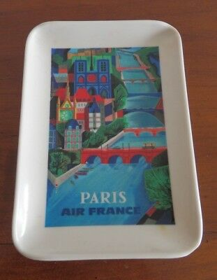 Air France cendrier vide poche coupelle aviation Paris Rumilly Ornamine