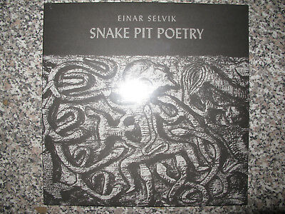 "Einar Selvik -Snake pit poetry- 10"" Mini LP (Wardruna vocalist!)"