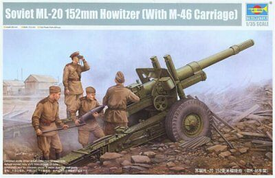 Trumpeter 02324 Soviet ML-20 152mm Howitzer  With M-46 Carriage   1:35