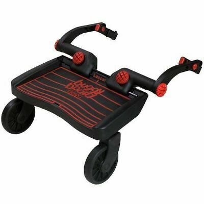 Lascal MINI BuggyBoard With Universal Connectors for 18M+ Toddler Child (Red)