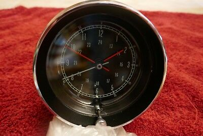 Corvette C2 1965-67 Original Clock Restored Original Dated 23 5