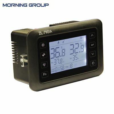 Intelligent PID Temperature Humidity Controller LCD Display Multifunction Automa