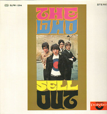 The Who-Lp- The Who Sell Out-Takes- 1967/68- Japan- Mint