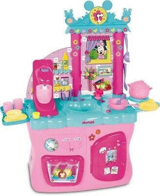 Disney Minnie Mouse Kitchen Girls Toy Cooking Playset With 40+ Accessories new