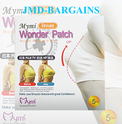 MYMI Wonder Patch Fat Burner Slimming Patch Breast Push Up Weight Loss 5pcs UK