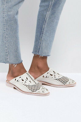 Free People Paramount Loafer in White New in Box *ALL SIZES*