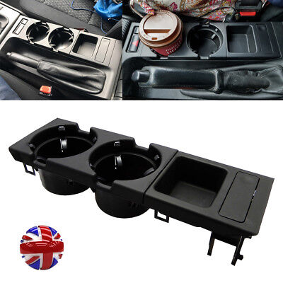 Front Center Console Drink Cup Holder Storing Coin Box For BMW E46 3Series 98-04