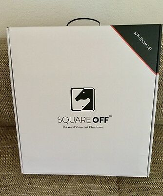 Square OFF Magical Smartest Chess Board Schachcomputer **NEW**