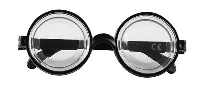 Boland Nerd Joke Glasses Novelty Scientist Thick Lens Fancy Dress Accessory