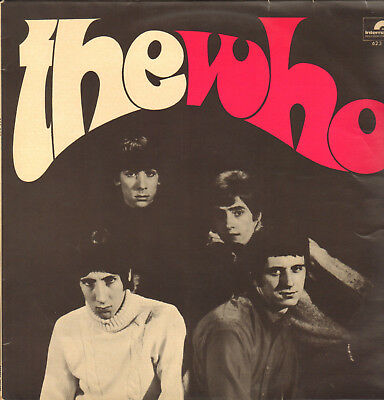 THE WHO-LP- SAME- 2nd LP- ORG. POLYDOR-GERMANY- 1966- MINT