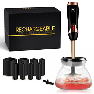 Electric Makeup Brush Cleaner by Livewell - Rechargeable, No Batteries Needed -