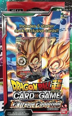 Dragon Ball Super Card Game - Starter Deck The Extreme Evolution