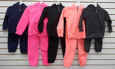 Toddler & Girls Limited Too 2pc Assorted Fleece Sweatsuits Sizes 3T - 5/6