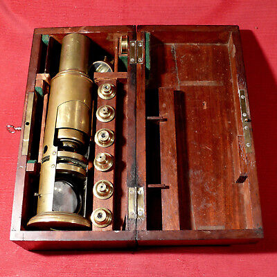 Antique drum microscope by LENNIE from Edinburgh