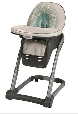 **NEW**Graco Blossom 4-in-1 Seating System Convertible High Chair, Winslet
