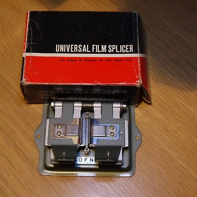 BOFNA 8mm, Super 8 & 16mm Universal Film Splicer Cine Movie Film Splicer Japan