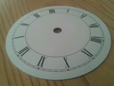 Clock Dial 119mm Roman Enam