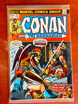 Conan the Barbarian Feb 23 1973 Vol. 1 No. 23 Intro Red Sonja, Marvel Comic
