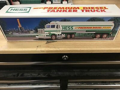 1993 HESS TOY TANKER TRUCK PREMIUM DIESEL MINT  Straight From Case!!