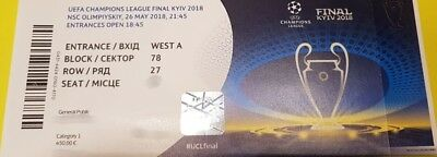 Final ticket Champions League 2018 Cat 1 delivery to Kiev city