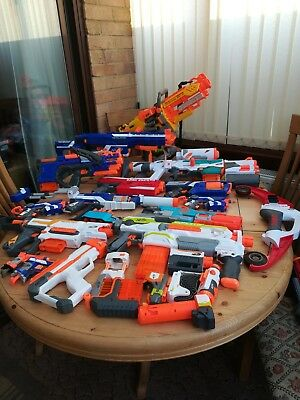 Job Lot Nerf Guns And Accessories