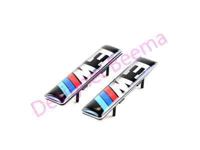 NEW GENUINE BMW E46 M3 WING GRILLE M3 EMBLEM WITH SUPPORTING PLATE 72127900605