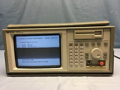 Hp Agilent 1653B 32 Channel 25Mhz/100Mhz Logic Analyzer