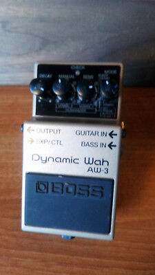 Boss AW-3 Auto-Wah Effect Pedal ->Great with bass and guitar<-