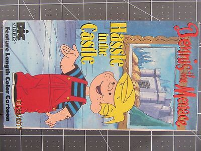Dennis the Menace HASSLE IN THE CASTLE VHS Tested Good Condition FREE SHIPPING