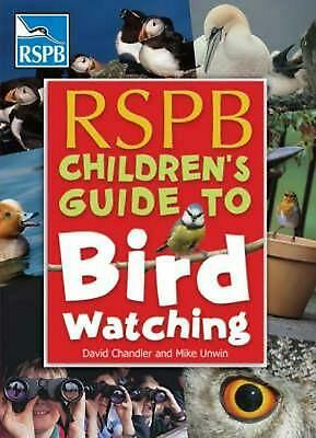 RSPB Children's Guide to Birdwatching by Mike Unwin Paperback Book Free Shipping