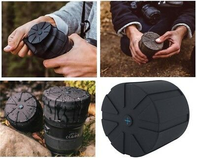 Universal Lens Cap protects any lens from dust and water