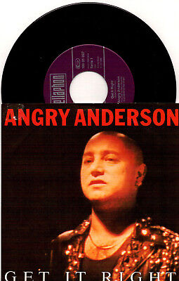 Angry Anderson - Get It Right / Falling - 7'' Vinyl