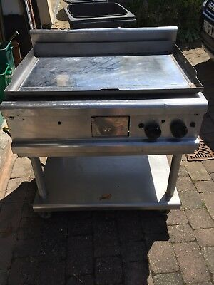 Lincat commercial gas griddle
