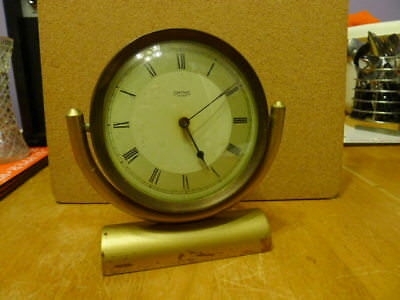 Smitrh's Gimballed Desk-Shelf Clock.30 hr Movement... VGWC..