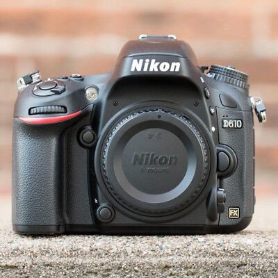 Nikon D610 FX Full Frame Digital SLR Camera Body Multi Language Authenti