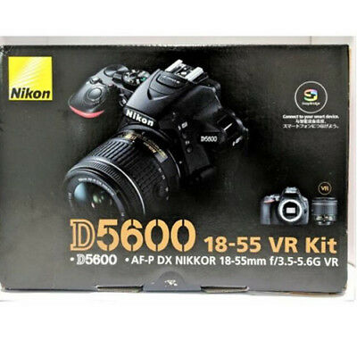 Nikon D5600 AF-P DX 18-55mm f/3.5-5.6G VR Kit Multi Black
