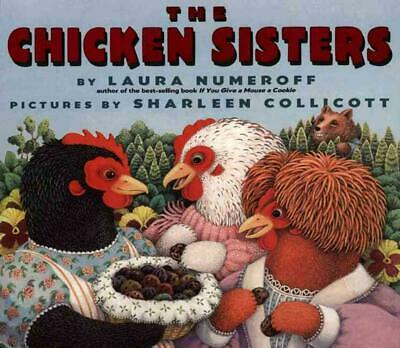 The Chicken Sisters by Laura Joffe Numeroff (English) Paperback Book Free Shippi
