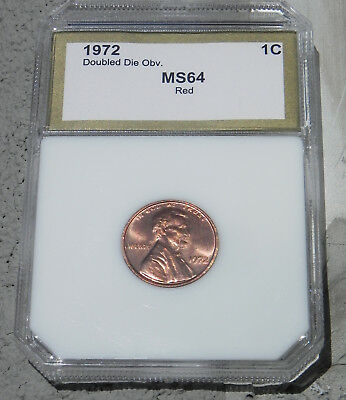 1972 DDO Double Die 1 Red Lincoln Cent FS 033.3 Breen 2265 The Big One!!