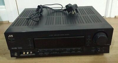 jvc rx 5060 b av amp amplifier 5.1 surround sound receiver stereo system