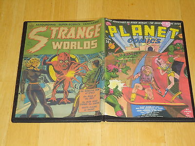 SCI-FI - SPACE COMICS on DVD GOLDEN AGE 278 ISSUES Planet Comics Space Detective