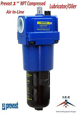 """Prevost 1"""" Compressed Air In-Line Oiler / Lubricator Inline Oil Lubrication"""