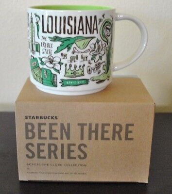 New Starbucks MUG LOUISIANA Been THERE SERIES Across Globe Collection