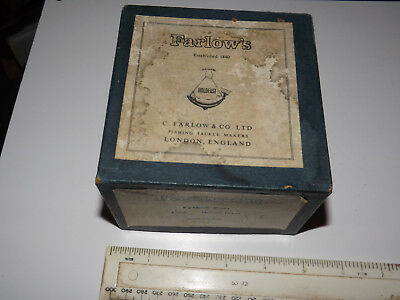 A Nice Scarce Vintage Farlows Python Salmon Reel With Box And Line