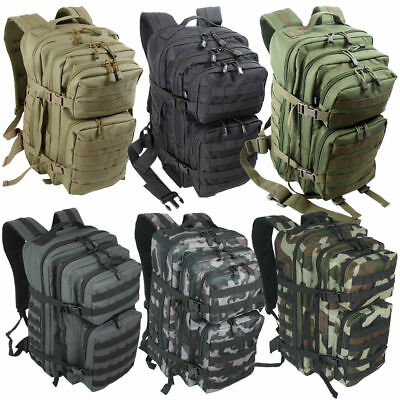 Rucksack Multifunktions Backpack Military Laptopfach 50 L  Outdoor Schule Unisex