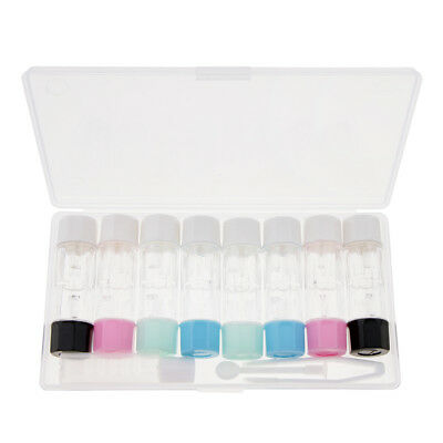 Contact Lens Portable Mini Plastic Travel Holder Storage Soaking Box Case
