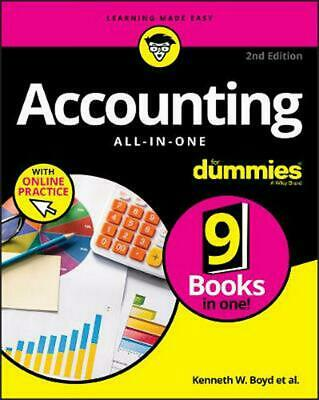 Accounting All-in-one for Dummies: with Online Practice by Kenneth W. Boyd Paper