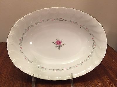 Fine China of Japan ROYAL SWIRL Oval Vegetable Bowl(s)