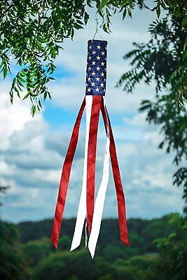 """60"""" American Flag Windsock 