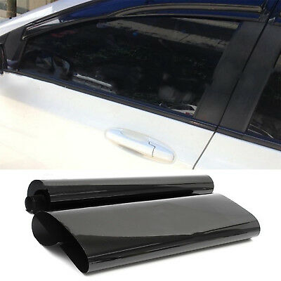 Professional Dark Smoke Black Car Window TINT 5% VLT Film 300x50cm Uncut POP